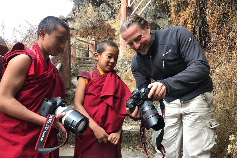 Thomas Kimmel auf der Suche nach dem Glück in Bhutan.