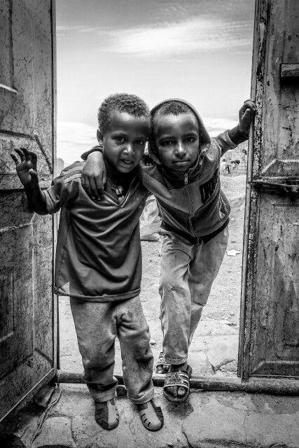 "10. Platz: ""Jungen"", Äthiopien, Frank Lang"
