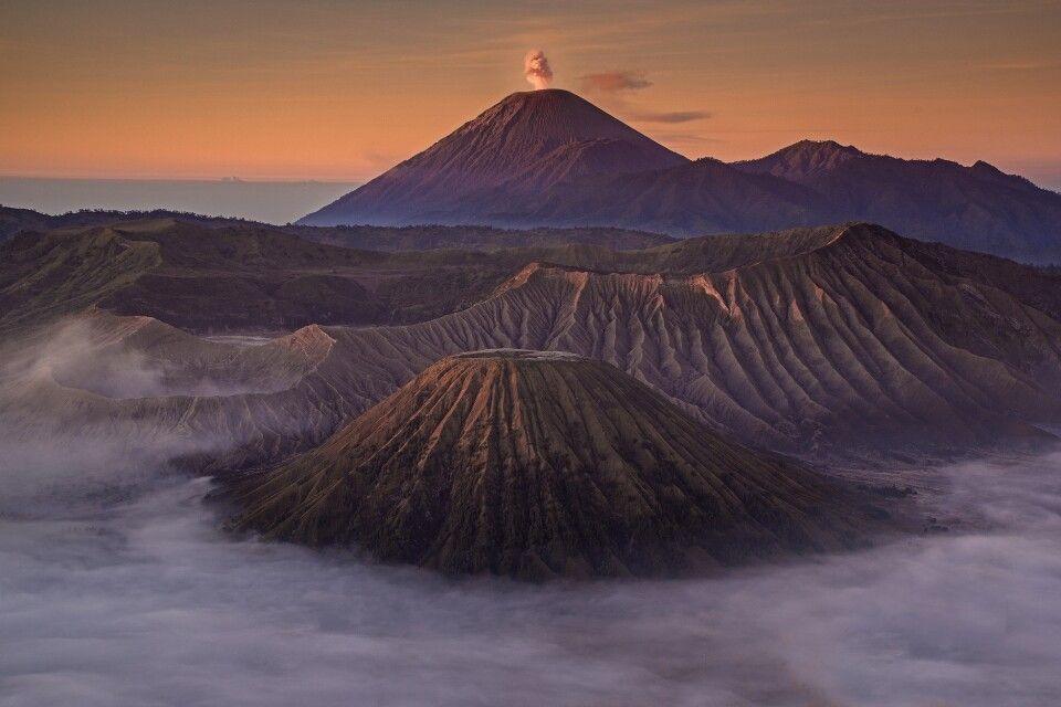 """1. Platz: """"Bromo Sunrise"""", Indonesien, Sigrid Wolf-Feix"""