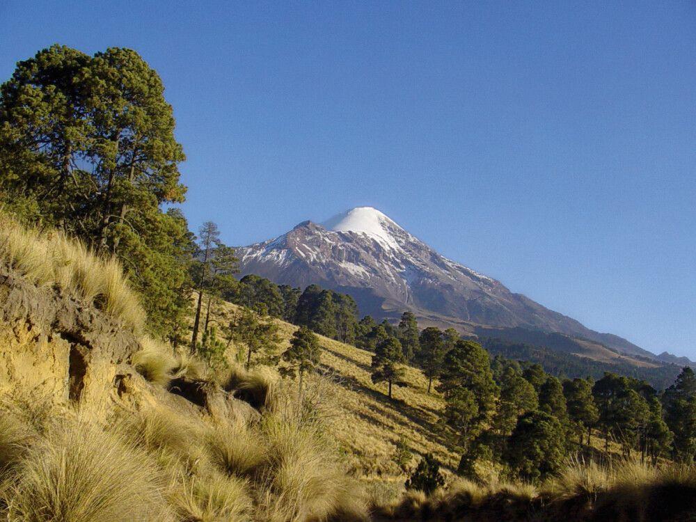 Citlaltepetl, höchster Berg Mexikos und gleichzeitig höchster Vulkan Nordamerikas