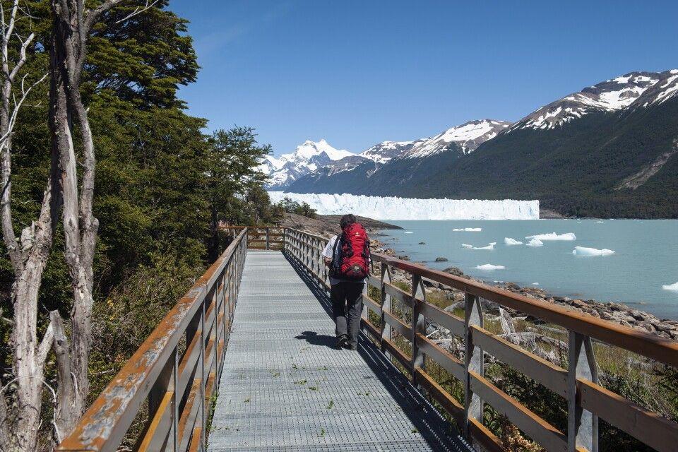 Nationalpark Los Glaciares: Perito-Moreno-Gletscher