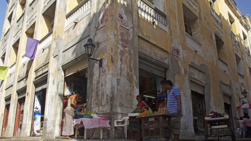 Straßenverkauf in Cartagena an der Karibikküste © Diamir