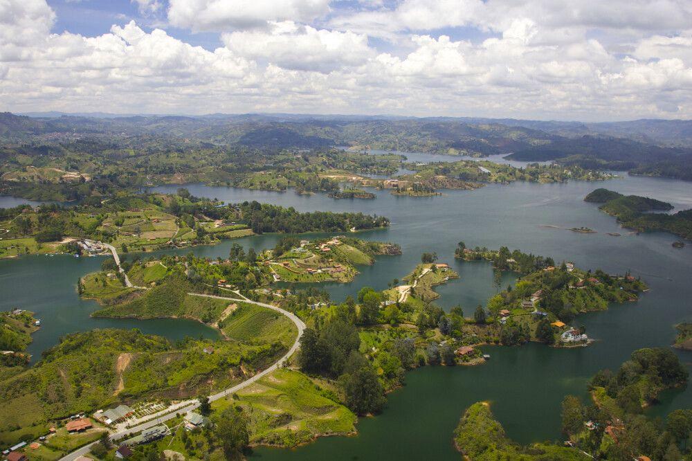Guatape östlich von Medellin