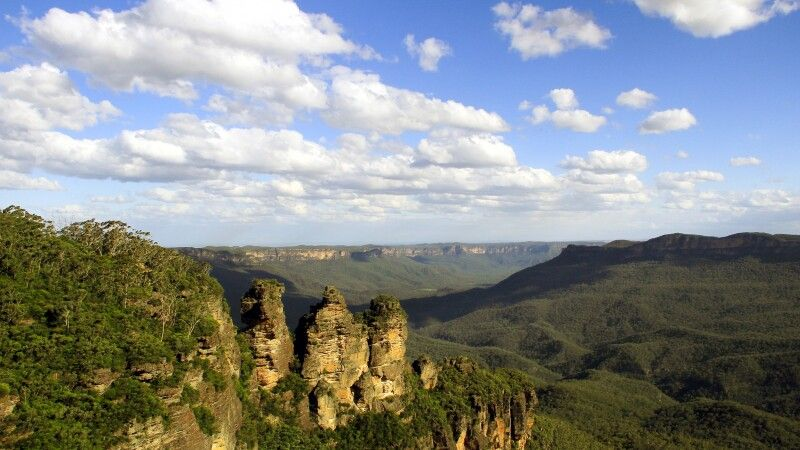 Aussichtspunkt bei den Blue Mountains © Diamir