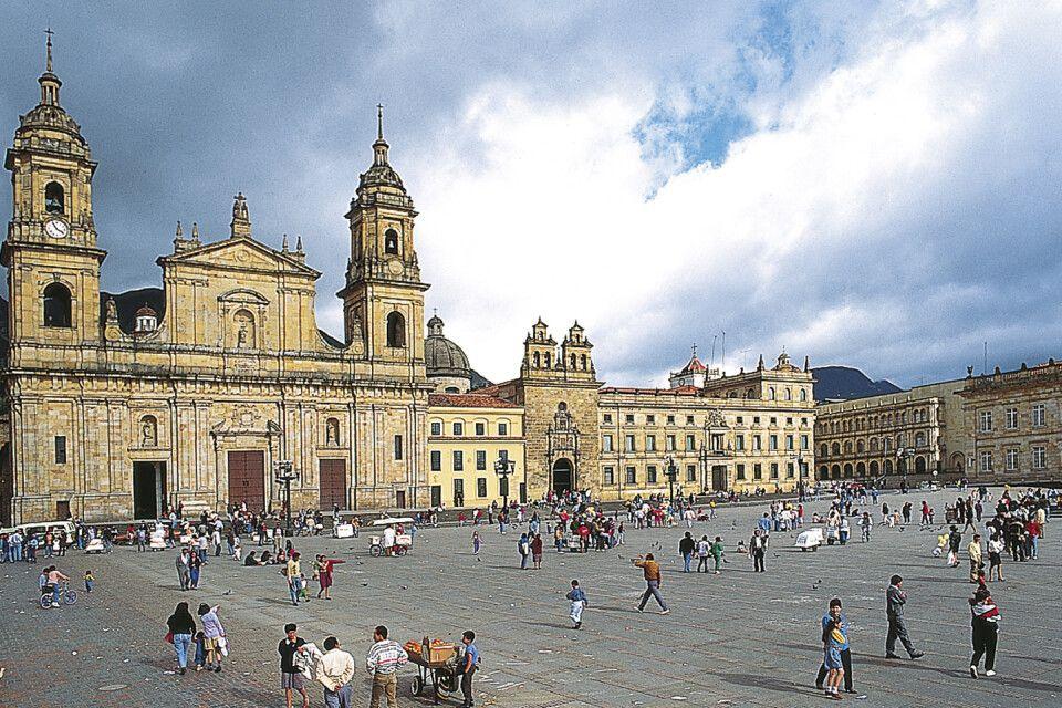 Kathedrale in Bogota, Kolumbien