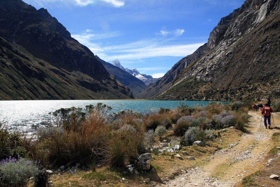 Trekking in der Cordillera Blanca, Santa Cruz Trek