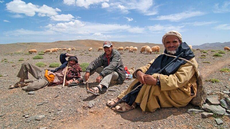 Pause bei den Hirten © Diamir