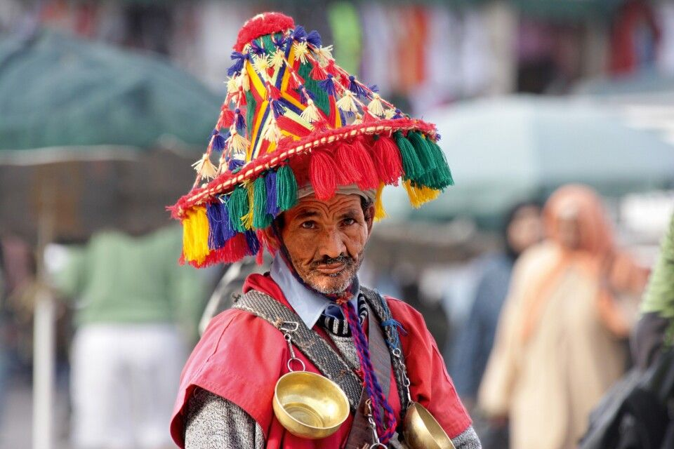 Wassermann in Marrakesch