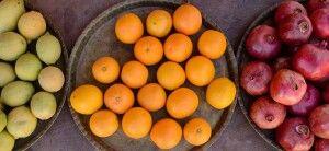 Frisches Obst in der Wüste