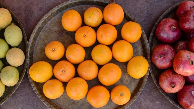 Frisches Obst in der Wüste © Diamir