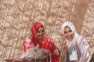 zwei algerische Frauen