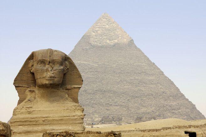 Kairo Pyramiden von Gizeh