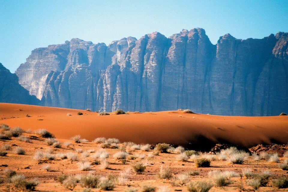 Kulisse im Wadi Rum