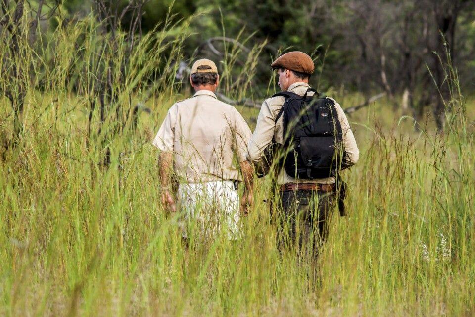 Auf Nashornpirsch im Matobo Hills NP
