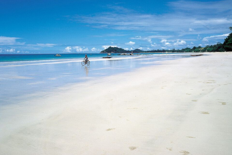 am Strand von Ngapali