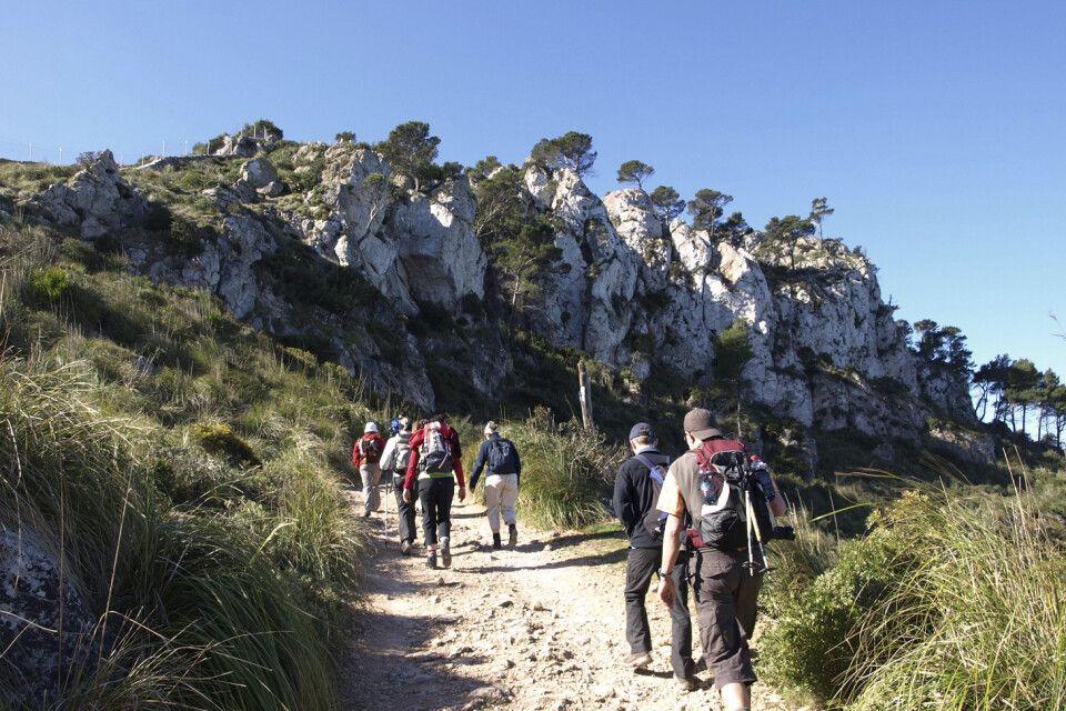 Unterwegs im Tramuntana-Gebirge