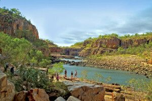 Top End Katherine Gorge Schlucht
