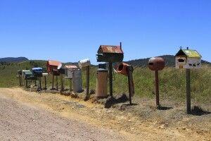 Briefkästen Outback
