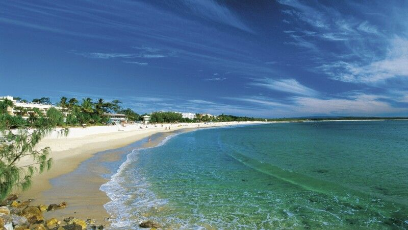 Noosa Main Beach Australia Nature Coast Sunshine Coast © Diamir