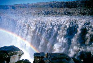 Der Detifoss ist einer der größten Wasserfälle Islands