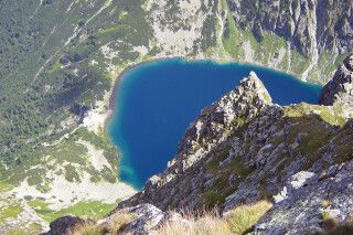 Bergsee im kleinsten Hochgebirge Europas