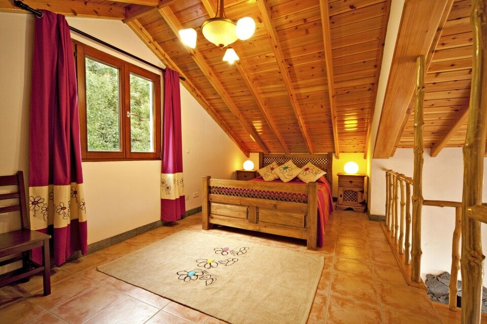 Blick in ein Gästezimmer, Casa Cachalote