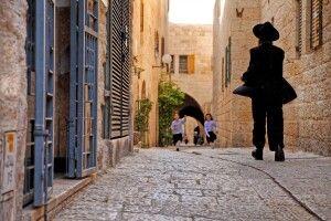 In den Altstadtgassen von Jerusalem