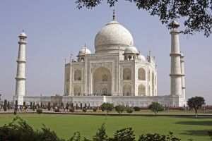 Taj Mahal (UNESCO) in Agra