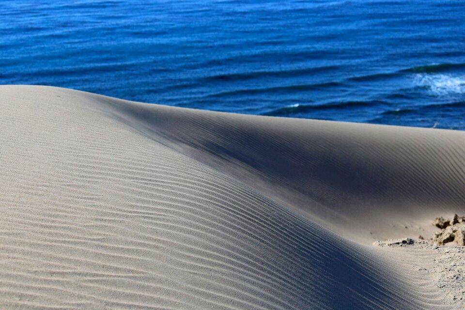 Wüstenlandschaft der Halbinsel Valdes