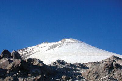 Die höchsten Gipfel Mexikos erheben sich bis auf über 5000m.