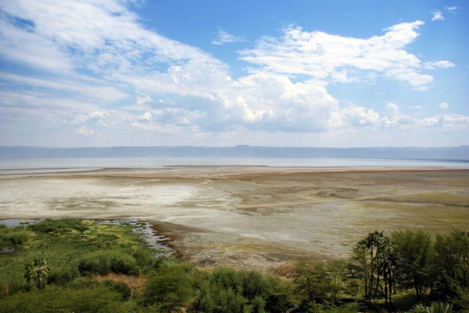 Blick auf den Eyasi-See