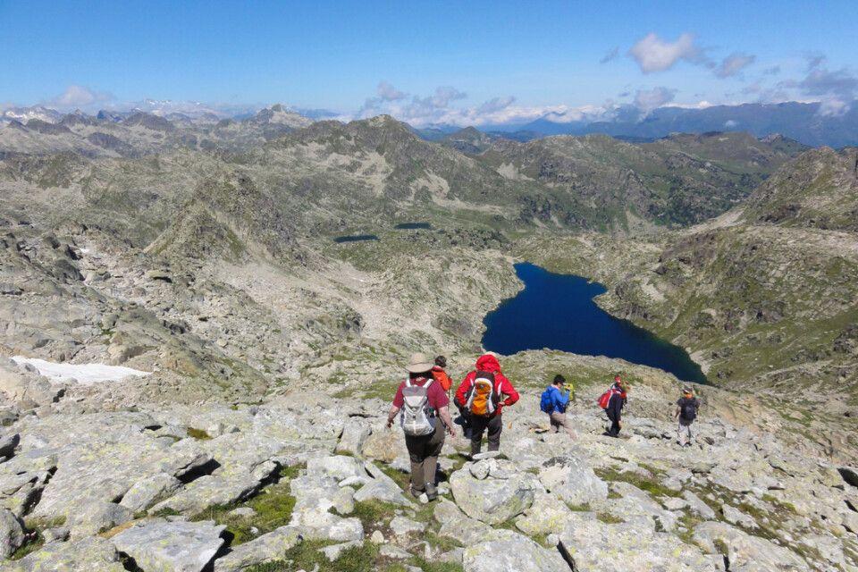 Berglandschaft im NP Aigüestortes