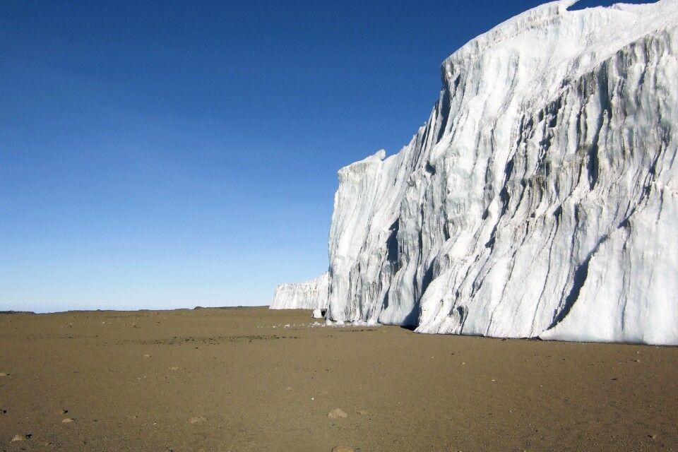 Furtwängler-Gletscher am Kilimanjaro