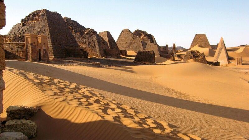 Pyramiden von Meroe © Diamir