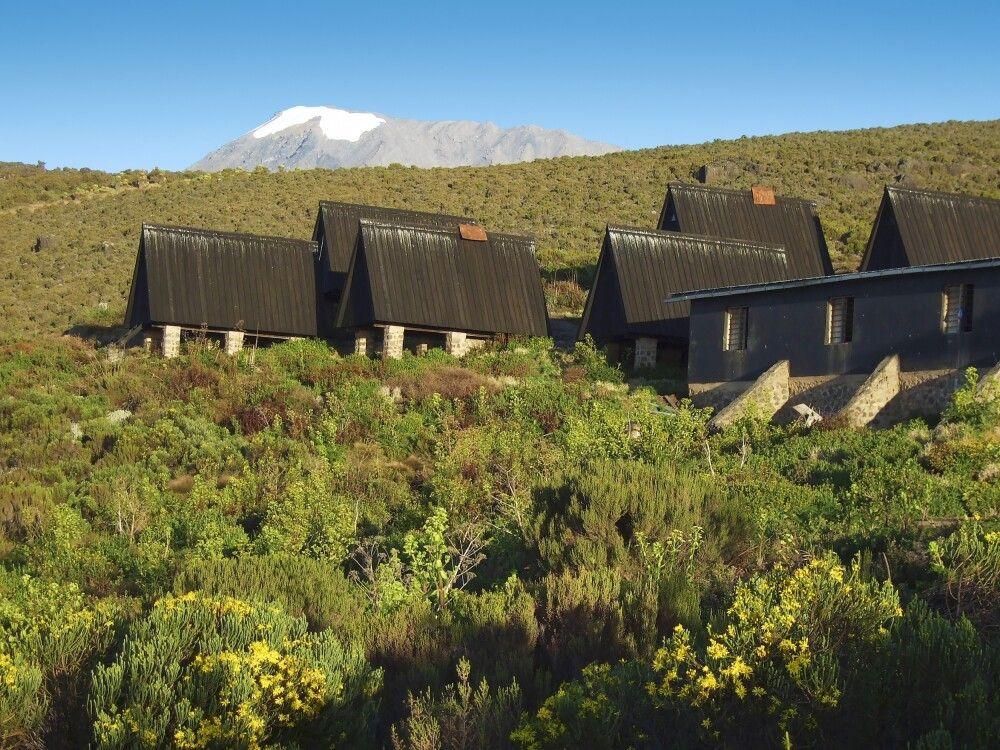 Horombo-Hütten am Kilimanjaro