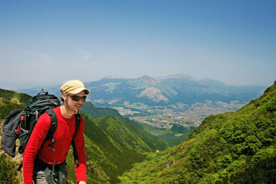 Trekking im Aso-Kuju-Nationalpark