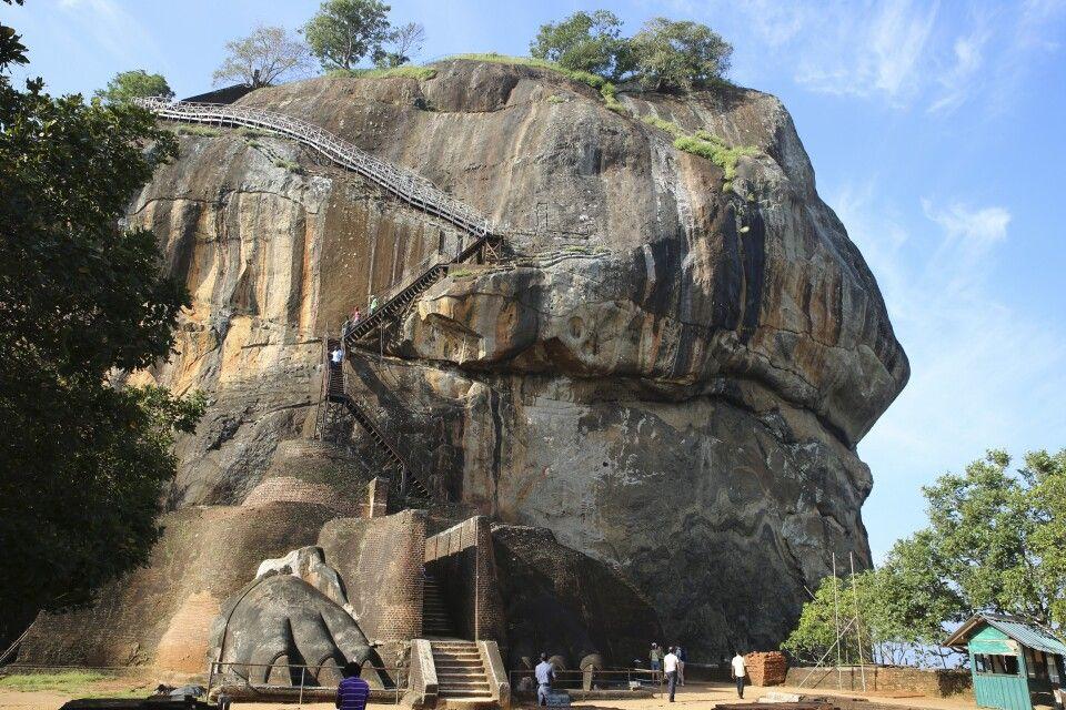 Löwenfelsen von Sigiriya