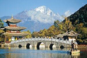 Teich des schwarzen Drachens in Lijiang