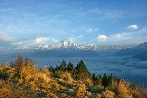 Blick vom Poon Hill auf Dhaulagiri (8167 m)