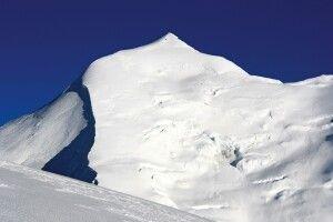 Die majestätische Gipfelspitze des Himlung.