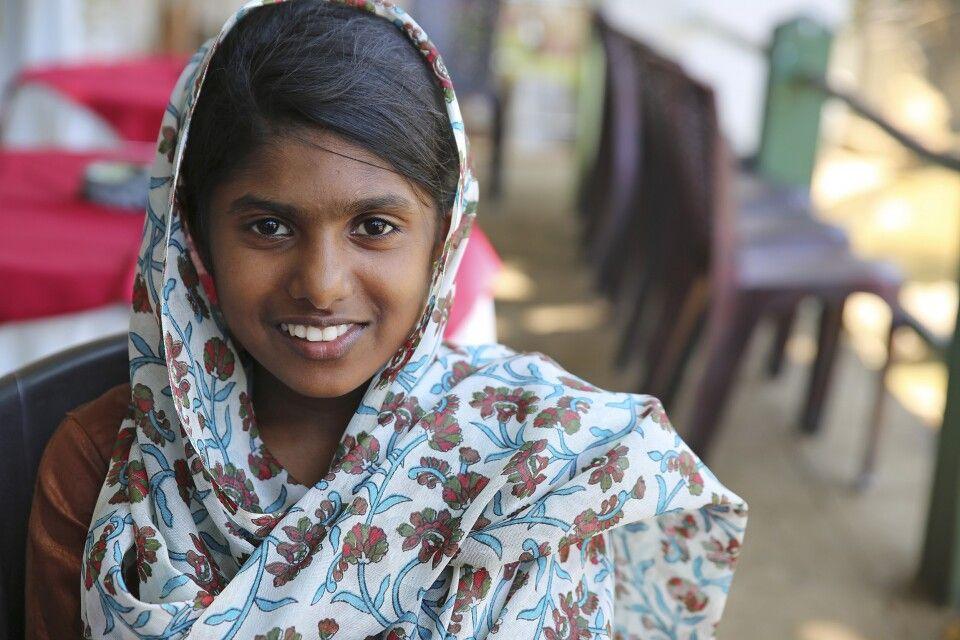 Mädchen aus Sri Lanka