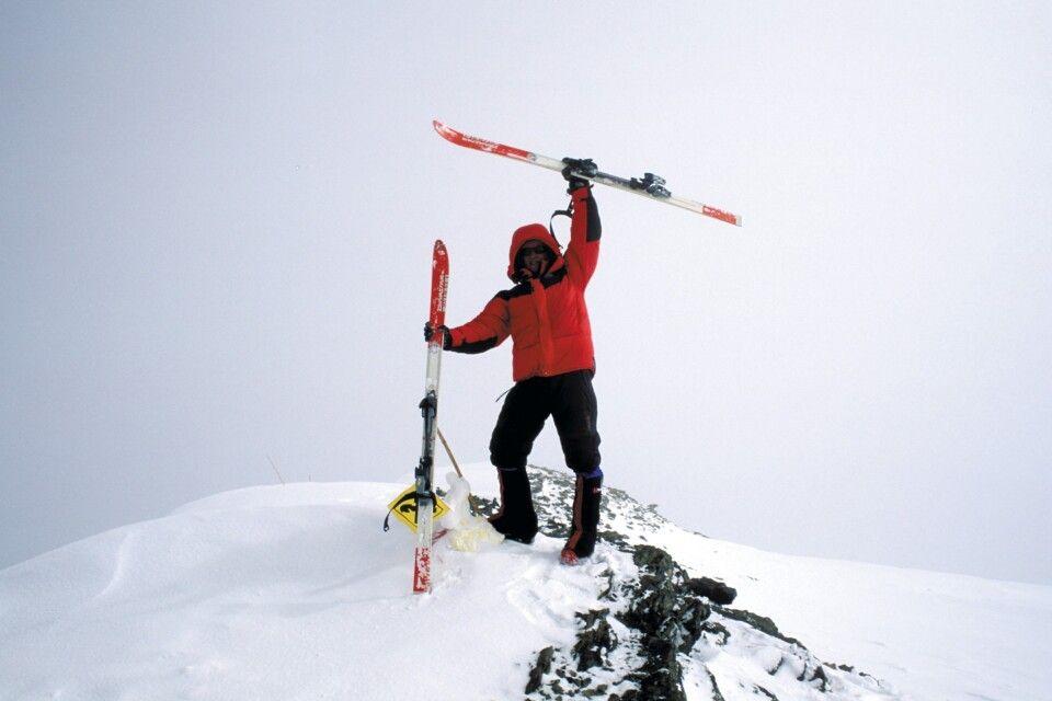 Gipfelfoto am Muztagh Ata