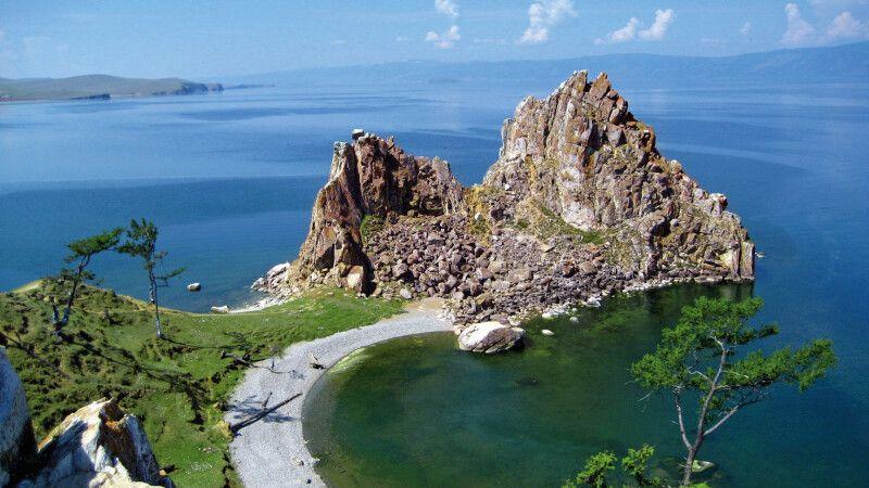 Schamanenfelsen Insel Olchon © Diamir