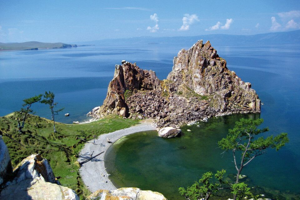 Schamanenfelsen Insel Olchon