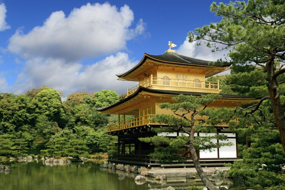Der Goldene Pavillion in Kyoto