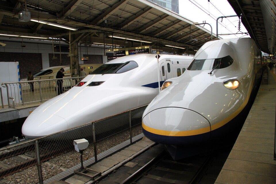 Komfort, Service und Pünktlichkeit auf Rädern: Der Bullettrain - Shinkansen