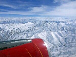 Panoramaflug nach Leh