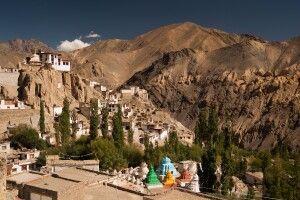 Stupas am Lamayuru Kloster