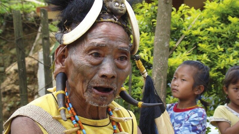 Naga in Nagaland © Diamir