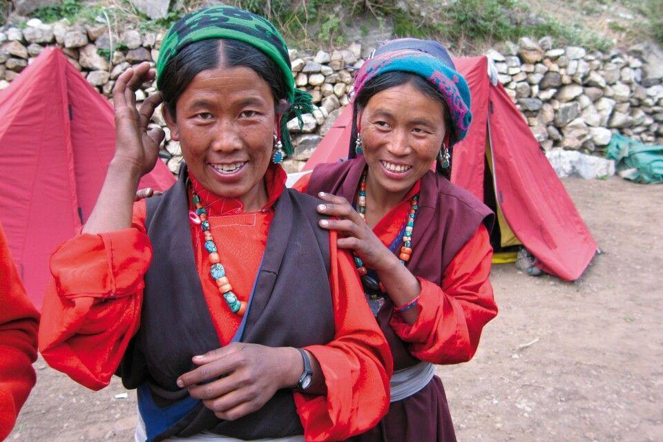 Tibeterinnen am Kailash